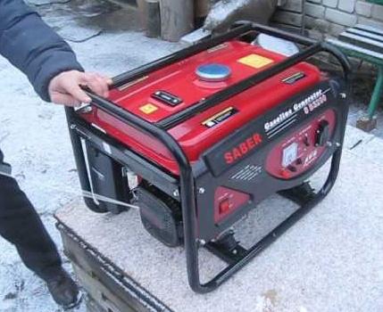 Elektriskā ventilatora sildītāja ģenerators
