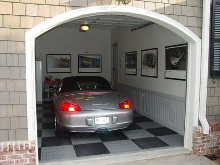 Warm garage