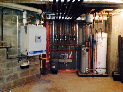 Reliable steam boiler