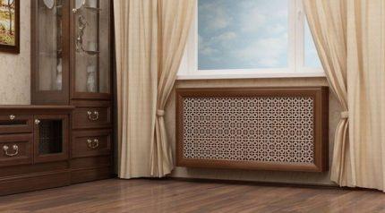 Lattices for steam heating radiators