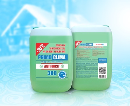 What antifreeze is better to fill the heating system