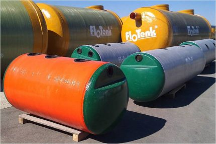 Range of septic tanks Flotenk