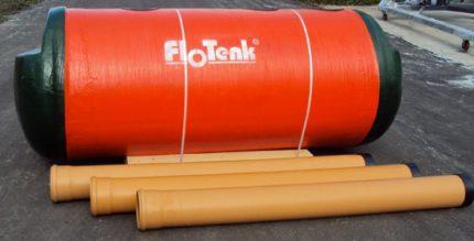 Advantages of a septic tank Flotenk