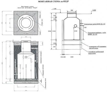 Wiring diagram for Cedar