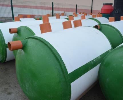 Septic tanks for autonomous sewage
