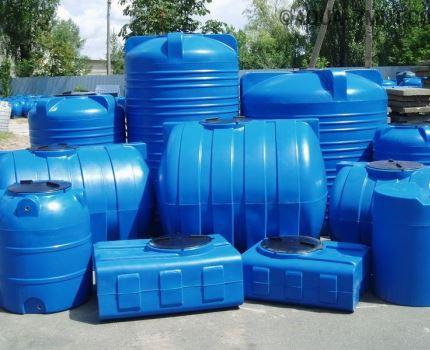 Factory-made storage tanks