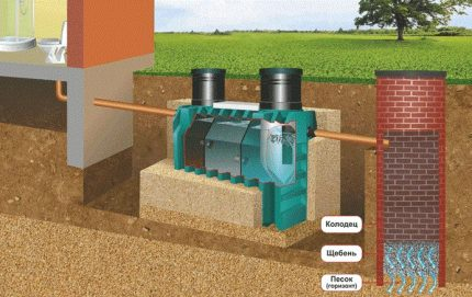 Which septic tank will be better to install on the territory of a private house