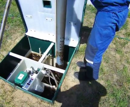 Parts of a septic tank are easily removable