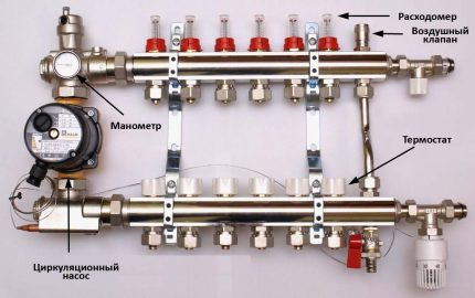 Outlet stop valves