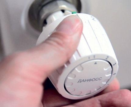 Radiatora termostats