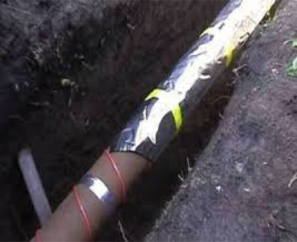 Elektriskais kabelis cauruļu sildīšanai