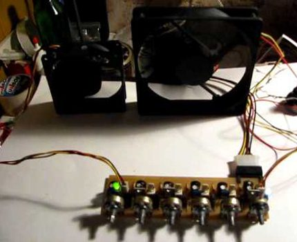 5-channel controller