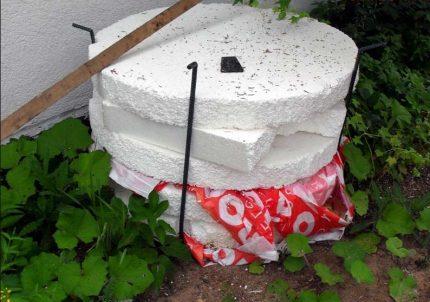 Cover insulation