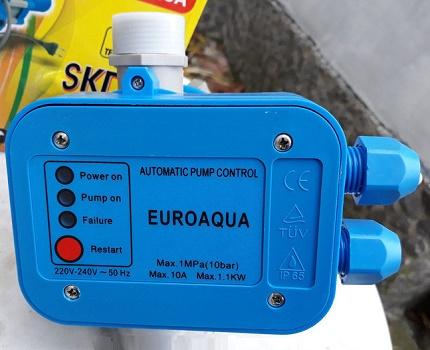 Sudėtingi vandens slėgio stebėjimo įtaisai
