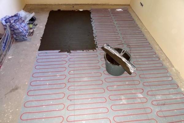 Suelo Radiante Eléctrico Azulejos Calefacción 200 Vatios m2 Con Regulador