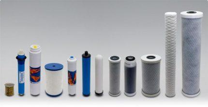 Nouvelle ligne de filtre à eau