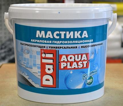 Mastic bitumen-polymer