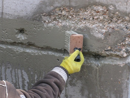 The use of penetrating waterproofing