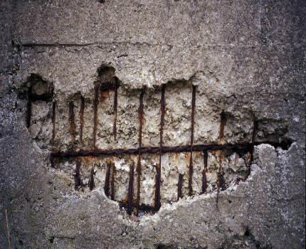 Concrete leaching