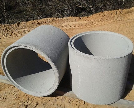 Zhb rings for the construction of a well in the country with your own hands