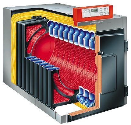 Heat exchanger and combustion chamber