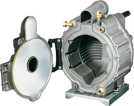 The combustion chamber