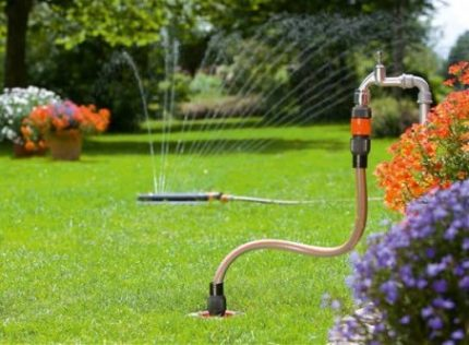The purpose of the summer water supply