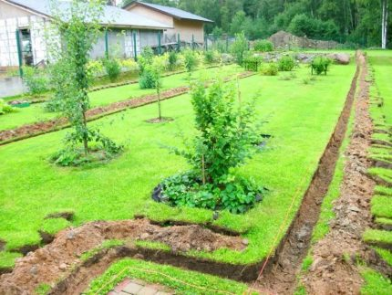 Earthwork in the country