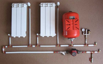 When do-it-yourself pressure testing of the heating system