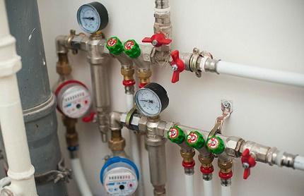 Procédure d'installation du compteur d'eau