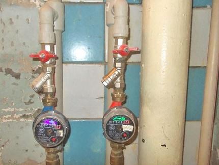 Respect des règles d'installation des compteurs d'eau
