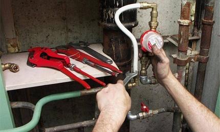 Comment préparer un endroit pour installer un compteur d'eau