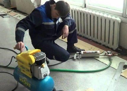 Apkures sistēmas profesionāla tīrīšana