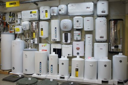 Water heater models