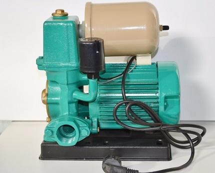 Spiediens spiediena paaugstināšanai Wilo PB-401SEA ūdens apgādes sistēmā