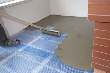 The need for cement screed