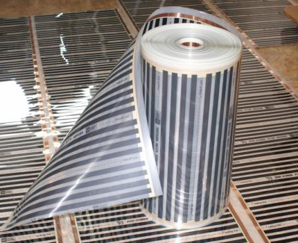 Striped Carbon Film