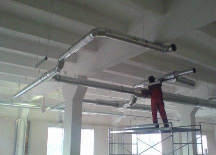 Installation de cheminées