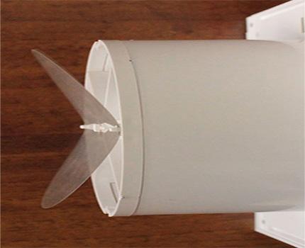 Clapet anti-retour à membrane
