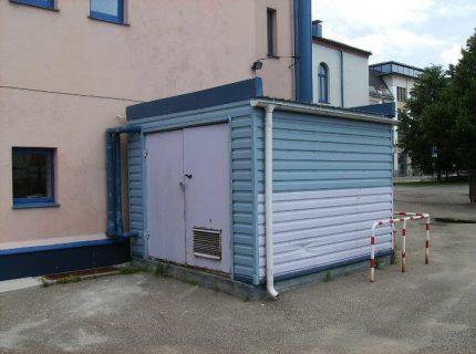 Mini boiler room