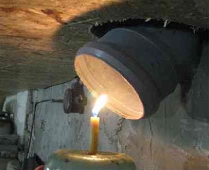 The method of increasing air circulation