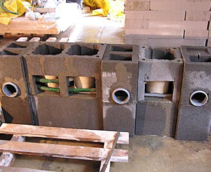 Matériaux pour organiser les conduits de ventilation