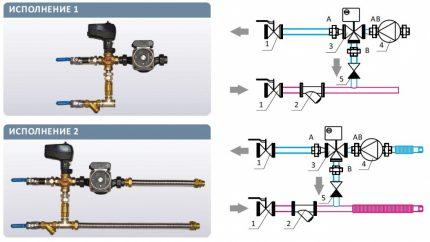 Ūdens sildītāju cauruļvadu veidi svaiga gaisa ventilācijai