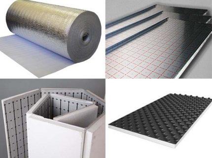 Types of mats for underfloor heating