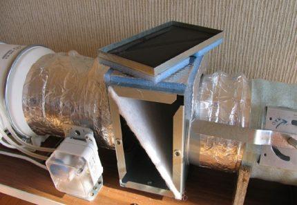 Filtres dans la ventilation d'alimentation