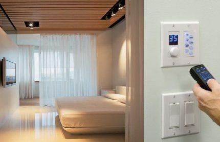 Automatisation de la ventilation d'alimentation