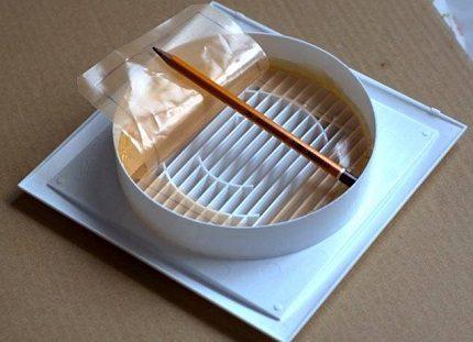 Clapet anti-retour à membrane fait maison