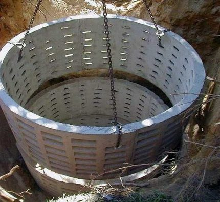 Rings for a filtration well