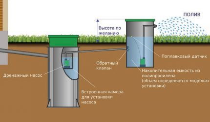 Use of purified water in irrigation