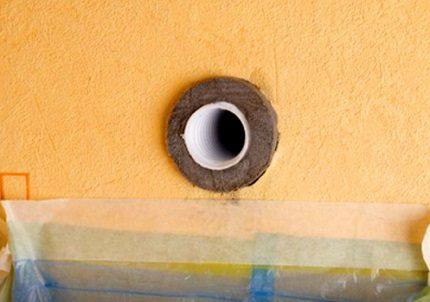Heat insulation installation